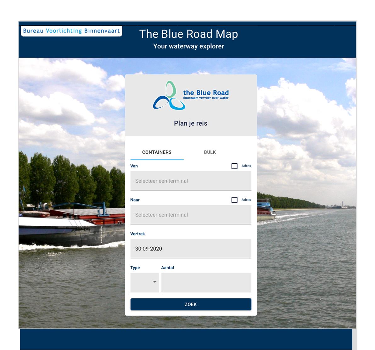 Containers van weg naar binnenvaart | BVB Routeplanner