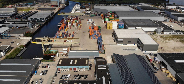 Containers van weg naar binnenvaart | Frank Bruurs